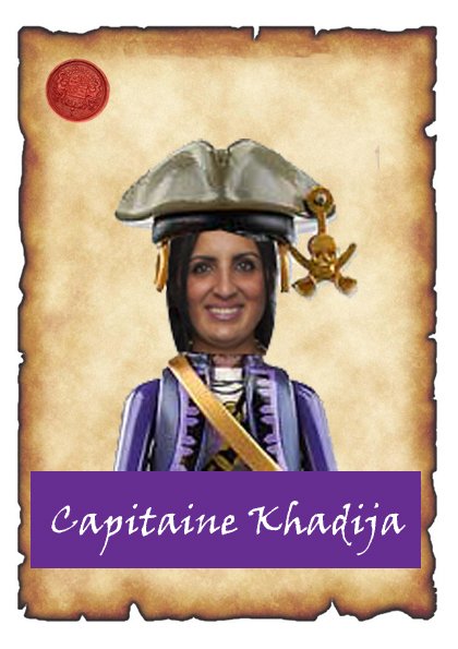 capitaine khadija carte