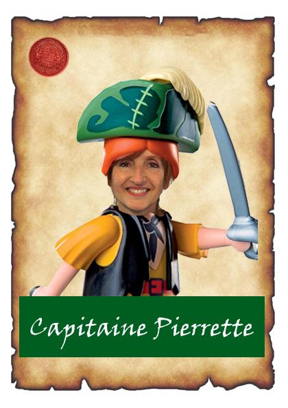 capitaine pierrettecarte